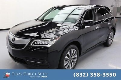 2016 Acura MDX 4dr SUV w/Technology and Entertainment Package Texas Direct Auto 2016 4dr SUV w/Technology and Entertainment Package Used FWD