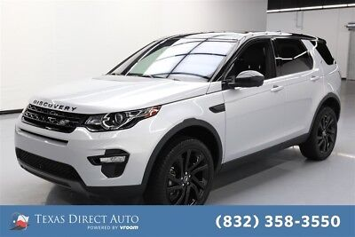2017 Land Rover Discovery Sport HSE Luxury Texas Direct Auto 2017 HSE Luxury Used Turbo 2L I4 16V Automatic 4WD SUV Premium