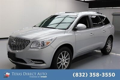 2015 Buick Enclave Leather Texas Direct Auto 2015 Leather Used 3.6L V6 24V Automatic FWD SUV OnStar