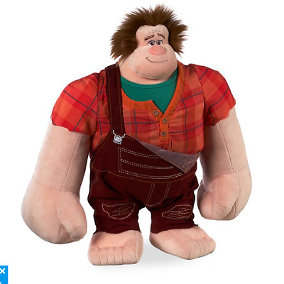 "BNWT Disney Store Soft Plush 15"" RALPH Wreck It Ralph Breaks The Internet 2 Toy"