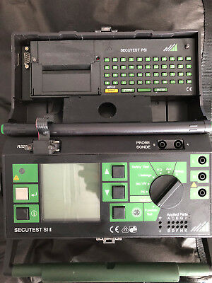 GMC Secutest S3 Medical safety tester 95% like new