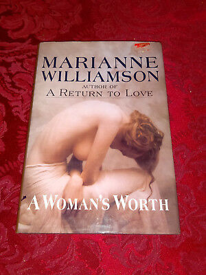 A Womans Worth By Marianne Williamson 1993 Hardcover Se