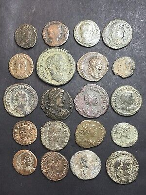 20 X Mixed Ancient Roman Imperial Coins.