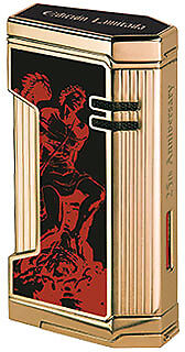 2017 Limited Edition - Magma X - God of Fire - Gold and Black Lacquer