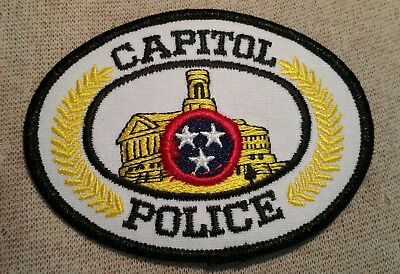 TN Tennessee State Capitol Police Patch