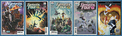 FANTASTIC FOUR 1 2 3 & 4 (1st PRINT) FF Thing Torch Invisible Marvel 2018 NM- NM