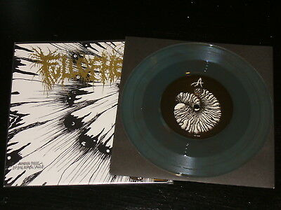 """Full of Hell - Amber Mote In The Black Vault 7"""" Rerelease, electric blue wax"""