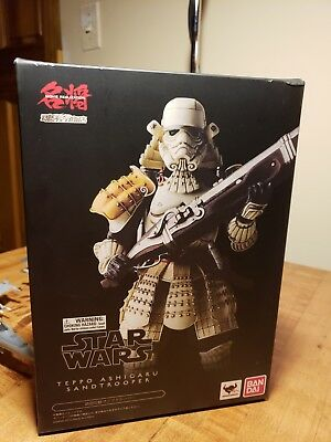 Star Wars Movie Realization Teppo Ashigaru Sandtrooper Bandai