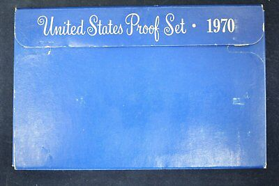 1970 United States US Mint Proof Set w/ Box
