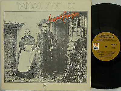 """FAIRPORT CONVENTION - """"Babbacombe"""" Lee LP (1st US Pressing on A&M w/Insert)"""