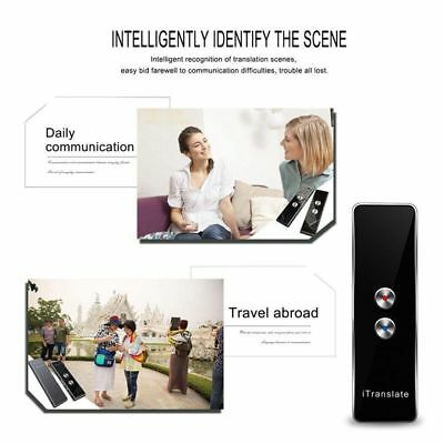 T8 Portable Smart Two-Way Real Time 40+ Multi-Languages Translator Instant Voice