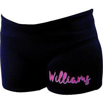 Williams Ladies Hipster Wetsuit Water Ski Pants Neoprene Shorts PINK Size 8-14