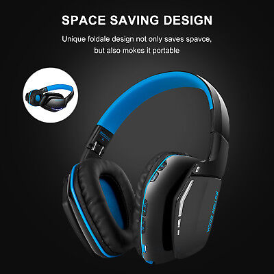 Wireless Gaming Headset Dolby 7.1 Surround Sound Headphones for PC Xbox one PS4