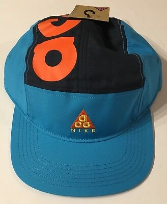 039f7e6269f NIKE ACG AW84 Cap Equator Blue Orange AO2104-439 Nikelab Lab Off ...