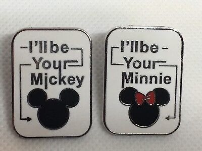Disney Pin - I'll Be Your Mickey/Minnie Set of 2 - Additional pins SHIP FREE