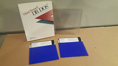 Dr Dos 3.4 0 Digital Research OS Operating System 1988 Vintage Retro 5.25 Floppy