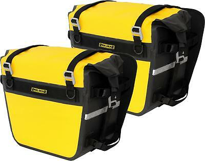 Nelson-Rigg Deluxe Adv Saddlebags Yellow/black Survivor Edition Se-3050-Yel