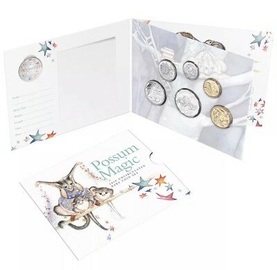 2019 Australia's Baby Uncirculated Coin Mint Set - Possum Magic-Royal Aus Mint