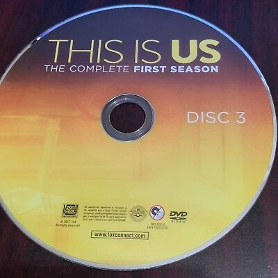 This Is Us Stagione 1 (DVD) Ricambio Dischi #3