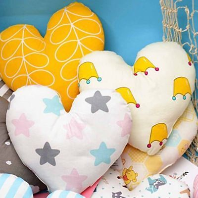 Heart Shape Baby Pillow Infant Cushion for Toddler Room Best Special Luxury
