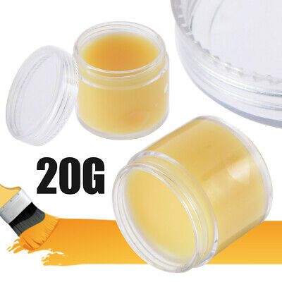 20g Natural Beeswax Polish Organic Wax Oil Wood Furniture Waxing Maintenance