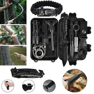 SOS Emergency Survival Equipment Kit Outdoor Sport Tactical Hiking Camping Tool