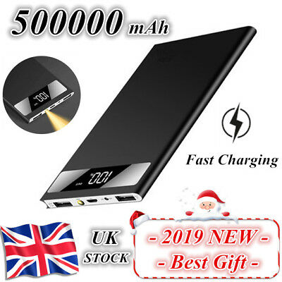 Business-Travel-Holiday Portable Power Bank 500000mAh Charger Battery Pack