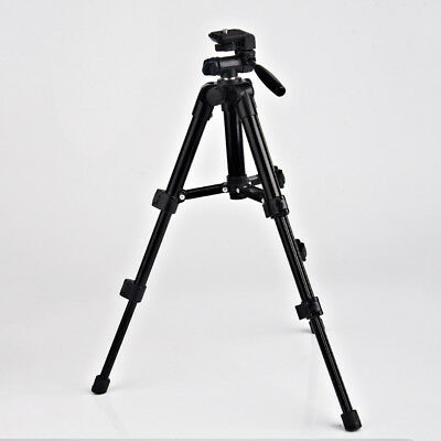 Outdoor portable aluminum tripod stand flexible for camera camcorder ST