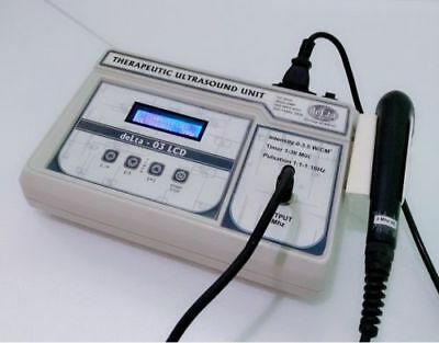 New Ultrasound Therapy Machine 3Mhz For Pain Relief With LCD Display delta Unit