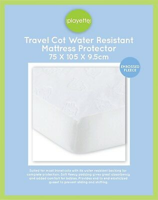 Playette Travel Cot Water Resistant Mattress protector - Embossed Sheep 1394180