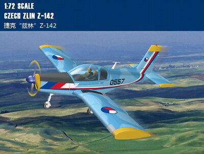 CZECH ZLIN Z-142 1/72 aircraft Trumpeter model plane kit 80282