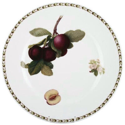 QUEENS HOOKERS FRUIT 4 x DINNER PLATES 26.5cm (ASSORTED) - BRAND NEW/UNUSED