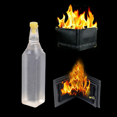 5ml Magic Trick Flame Fire Wallet Oil Magician Stage Perform Street Prop ShowIH