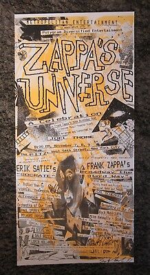 Frank Zappa - Cal Schenkel - Poster / Art Print - Signed by Cal 1991