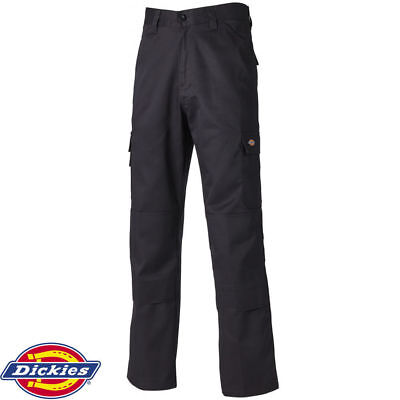 Dickies Black Ed247 Everday Workwear Trouser Multi Cargo Pocket Work Pant