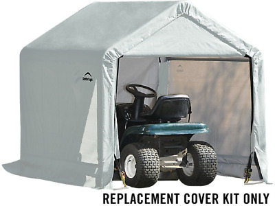 ShelterLogic Heavy Duty Replacement Cover Kit 6x6 805254 90500 for 70401 70417