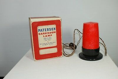 Vintage Paterson Darkroom Light - Film Photography Photographic Equipment