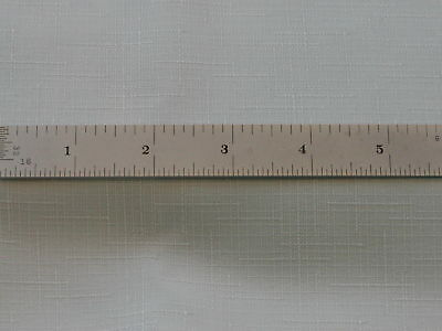 Starrett #c604Re-6 Spring-Tempered Steel Rule With Inch Graduations