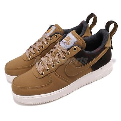 93c654fef1 Nike Air Force 1 Low Premium X Carhartt WIP Ale Brown Sail AF1 Shoes AV4113-