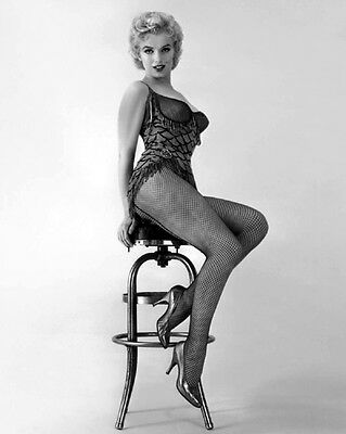 1956 American Actress 'Bus Stop' MARILYN MONROE 8x10 Photo Centerfold Model