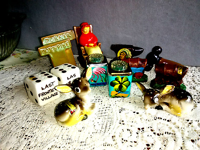 Lot of  Vintage Souvenir  Salt & Pepper Shaker Sets