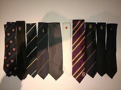 Masonic and/or club ties, different set of 10