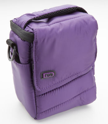 NXE Micropuff Compact 1.5L ILC Camera Bag Purple EXPHCSMP1P NEW