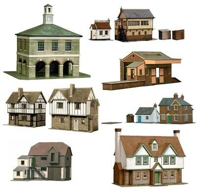 Superquick Series A and B Model Building Card Kits HO/OO Gauge 1/72 Scale