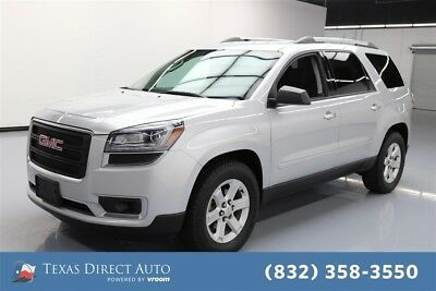 2015 GMC Acadia SLE Texas Direct Auto 2015 SLE Used 3.6L V6 24V Automatic AWD SUV OnStar