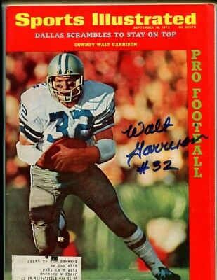 cea59e7781c WALT GARRISON SIGNED Custom Jersey w Super Bowl Inscription - Dallas ...