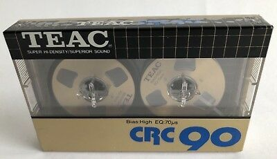 New Sealed TEAC CRC 90 Type II Cassettes Tapes Made in Japan