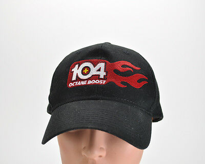 104 Octane Boost Hat Cap Black Adjustable Fuel Additive Muscle Cars