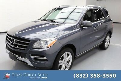 2015 Mercedes-Benz M-Class ML 350 Texas Direct Auto 2015 ML 350 Used 3.5L V6 24V Automatic AWD SUV Moonroof