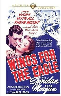 Wings for the Eagle (1942) [New DVD] Manufactured On Demand, Full Frame, Amara
